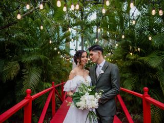 The wedding of Shadia and Juan Carlos