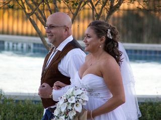 The wedding of Marcos and Brandie 1