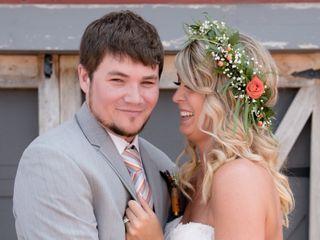 The wedding of Cory and Sarah
