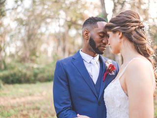 The wedding of Emily Hicks and Thomas Hicks