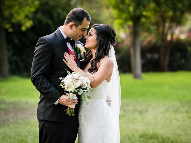 The wedding of Rebecca and Areg