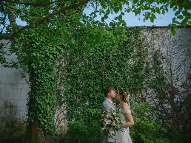 The wedding of Jenni and Drew