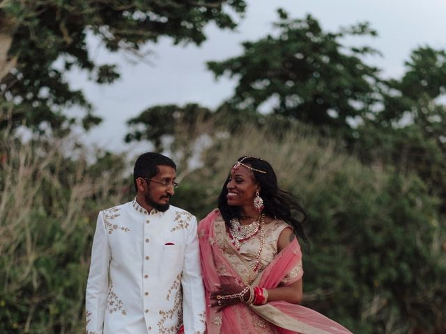 The wedding of Leneice and Sid
