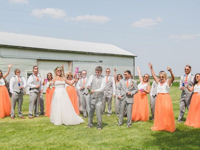 Sarah and Cory's Wedding in Aurora, South Dakota 1
