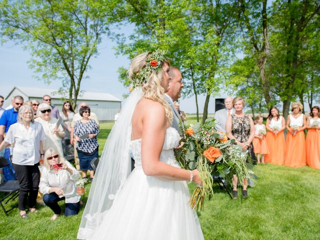 Sarah and Cory's Wedding in Aurora, South Dakota 12