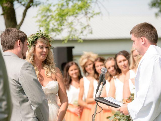 Sarah and Cory's Wedding in Aurora, South Dakota 17