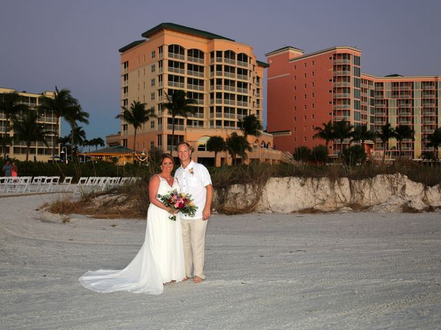 Scott and Kelli's Wedding in Fort Myers Beach, Florida 10