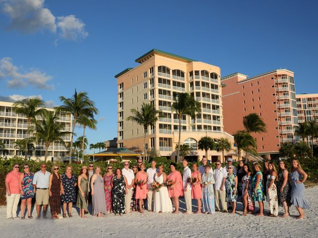 Scott and Kelli's Wedding in Fort Myers Beach, Florida 14