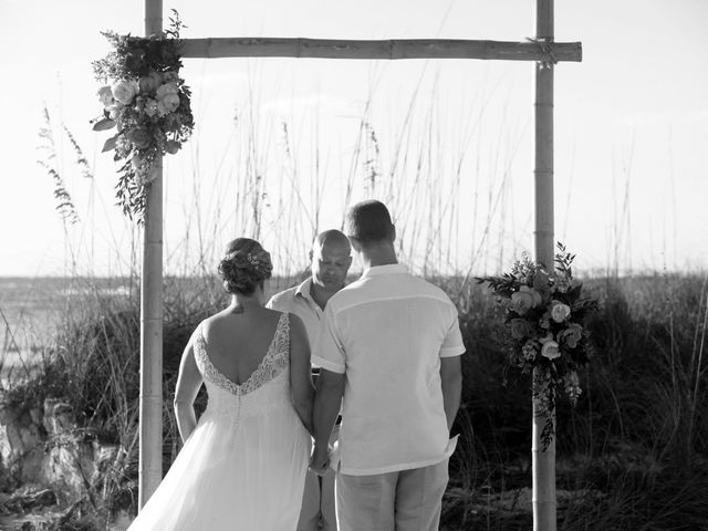Scott and Kelli's Wedding in Fort Myers Beach, Florida 21