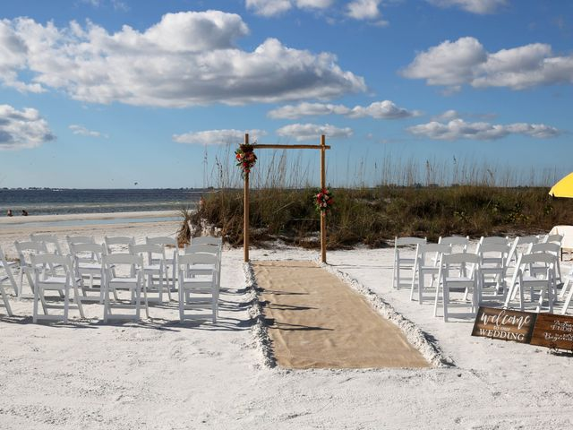 Scott and Kelli's Wedding in Fort Myers Beach, Florida 22