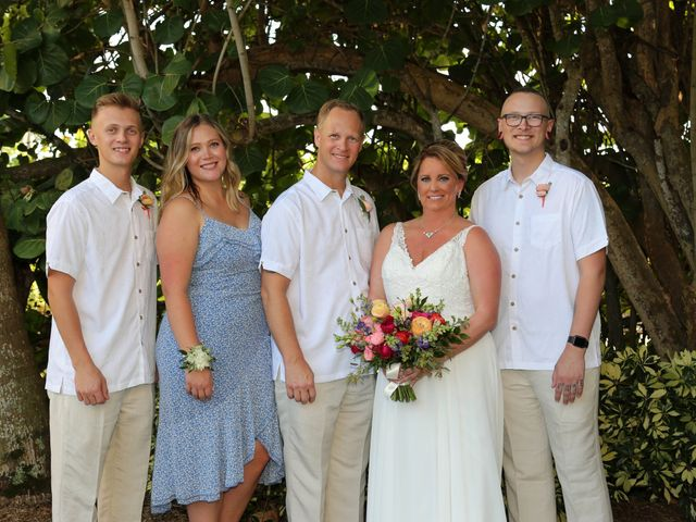 Scott and Kelli's Wedding in Fort Myers Beach, Florida 24