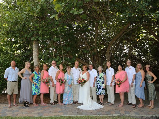 Scott and Kelli's Wedding in Fort Myers Beach, Florida 25