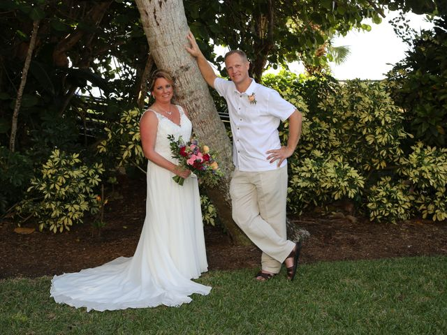 Scott and Kelli's Wedding in Fort Myers Beach, Florida 26