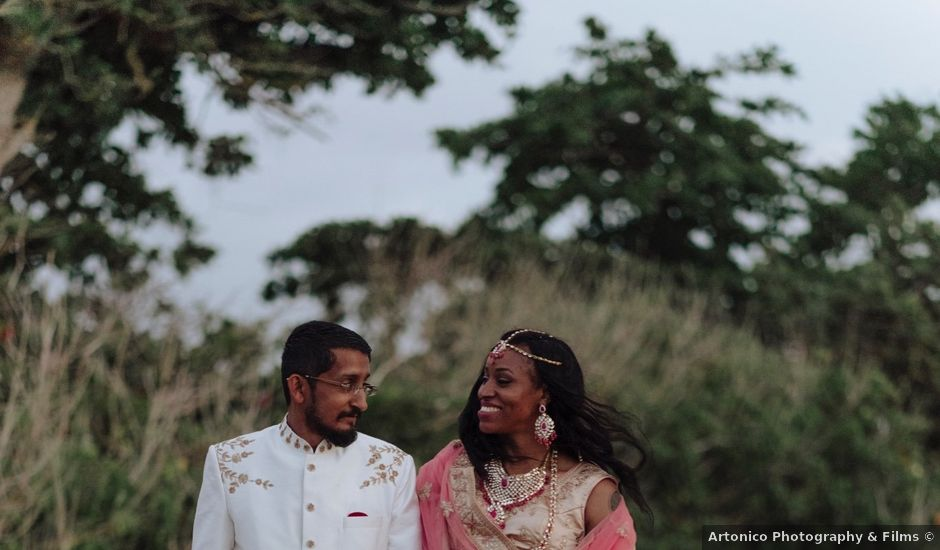 Sid and Leneice's Wedding in Rincon, Puerto Rico