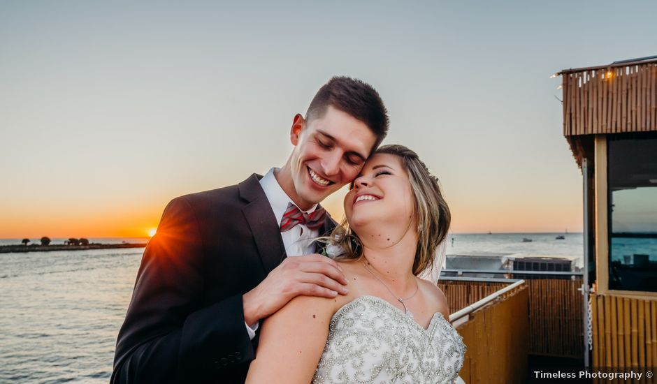 Ryan and Kelly's Wedding in Clearwater Beach, Florida