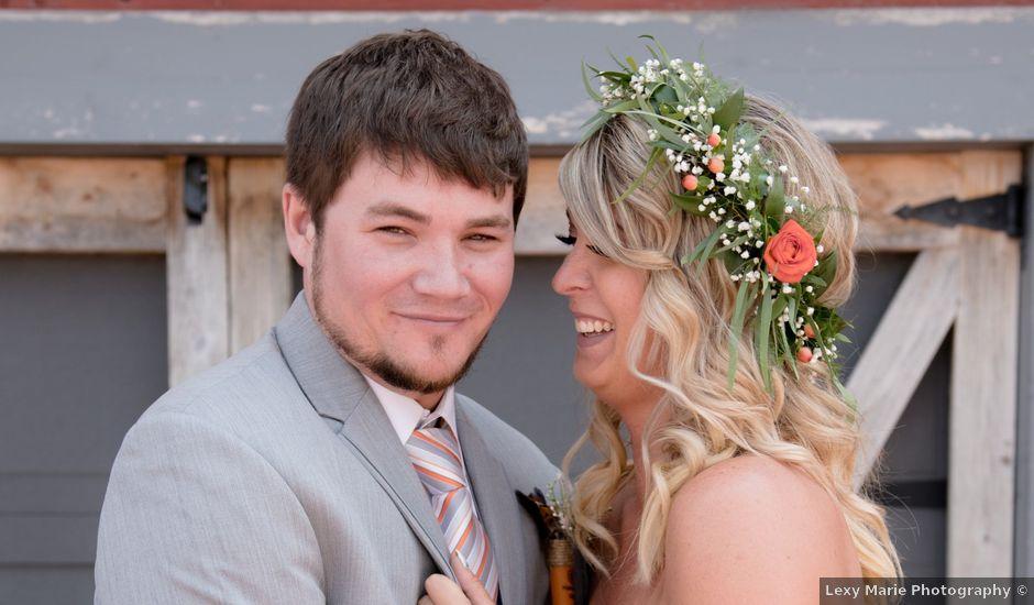 Sarah and Cory's Wedding in Aurora, South Dakota