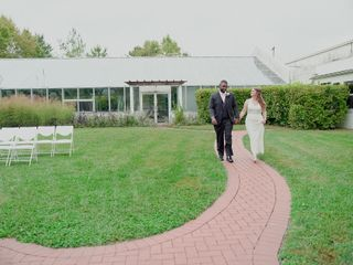 The wedding of Amanda and Nicholas 1