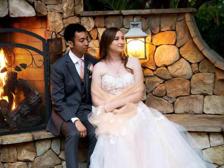 The wedding of Janine and Robert
