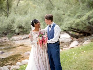 The wedding of Laura and Josh
