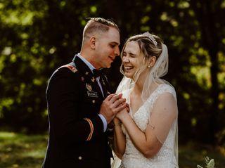 The wedding of Josh and Elena