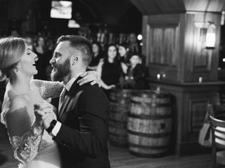 The wedding of Stefanie and Evan 1