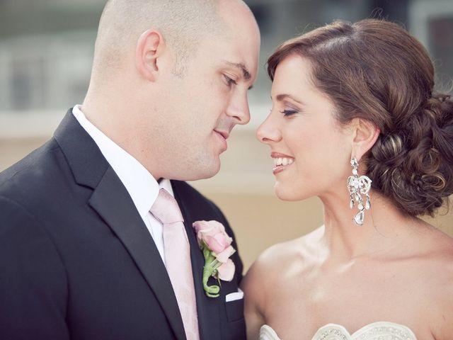 The wedding of Brandon and Marnie