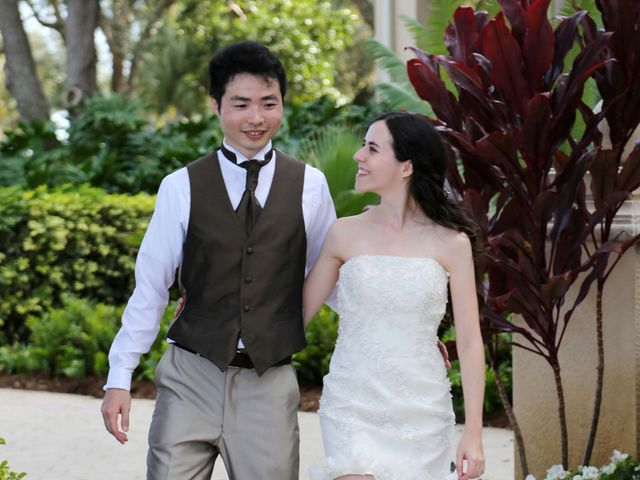 The wedding of Jennifer and Akihito