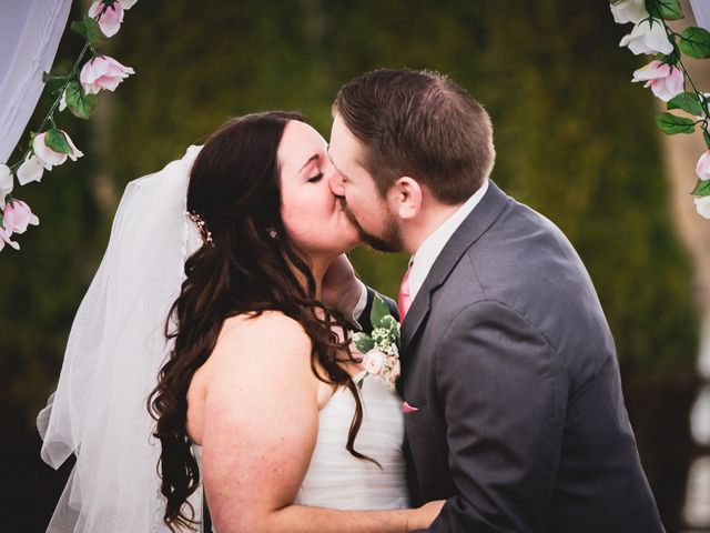 The wedding of Aubrea and Peter
