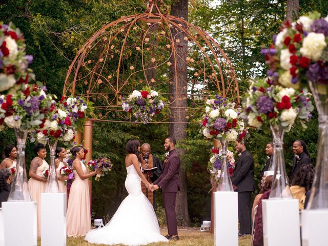 Andre and Leena's Wedding in Stafford, Virginia 15