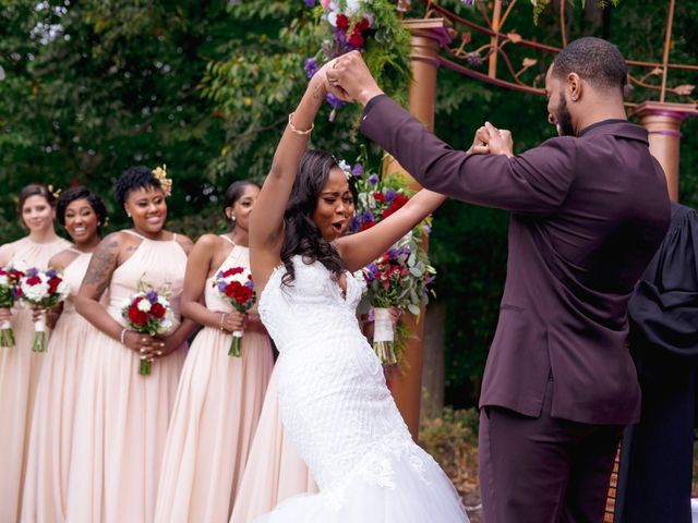Andre and Leena's Wedding in Stafford, Virginia 16