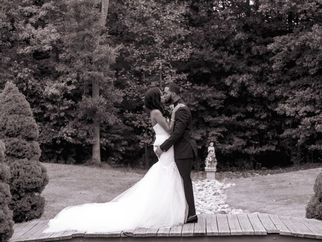 Andre and Leena's Wedding in Stafford, Virginia 75