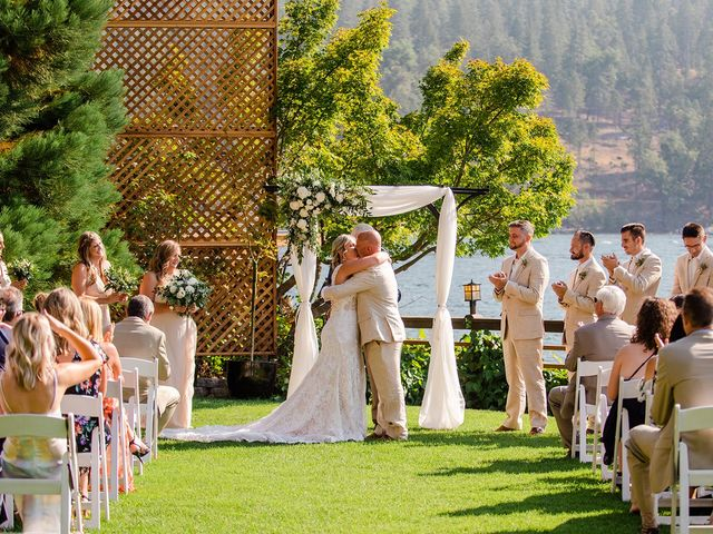 Christopher and Angela's Wedding in Bass Lake, California 15