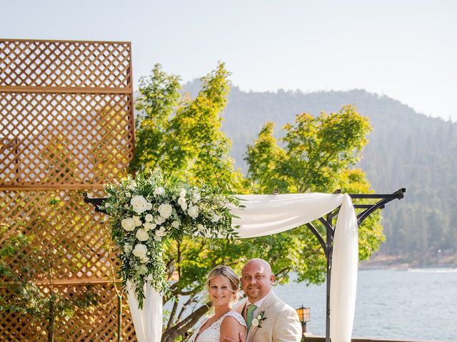 Christopher and Angela's Wedding in Bass Lake, California 16