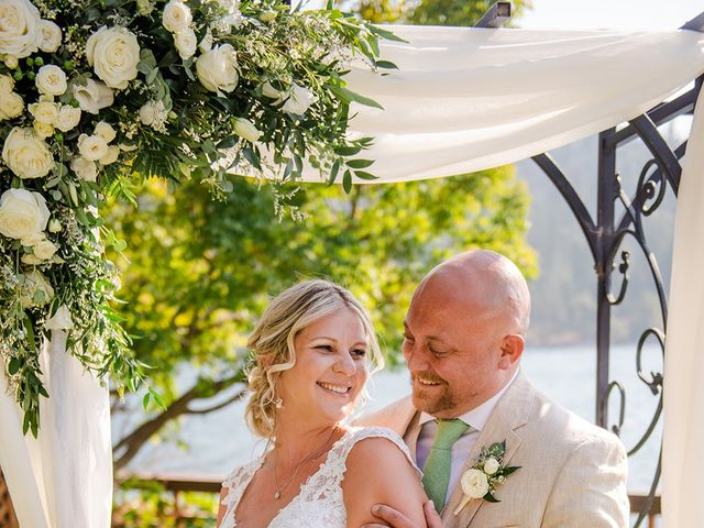 Christopher and Angela's Wedding in Bass Lake, California 2