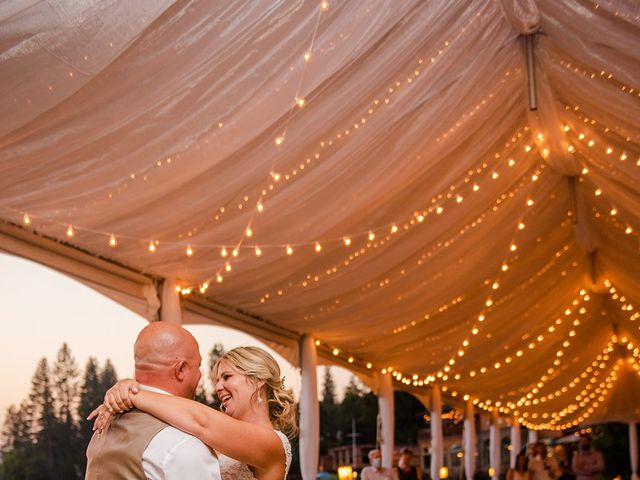 Christopher and Angela's Wedding in Bass Lake, California 19