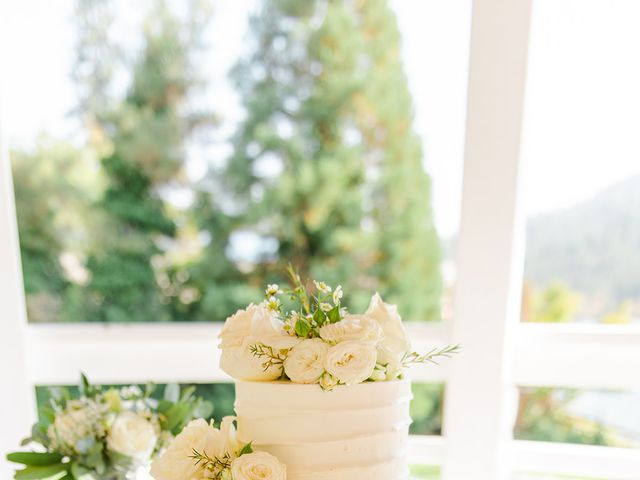 Christopher and Angela's Wedding in Bass Lake, California 23