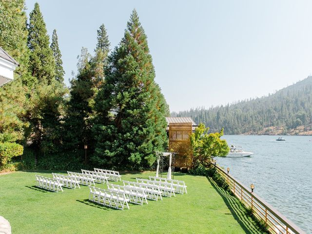 Christopher and Angela's Wedding in Bass Lake, California 31