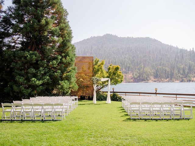Christopher and Angela's Wedding in Bass Lake, California 32
