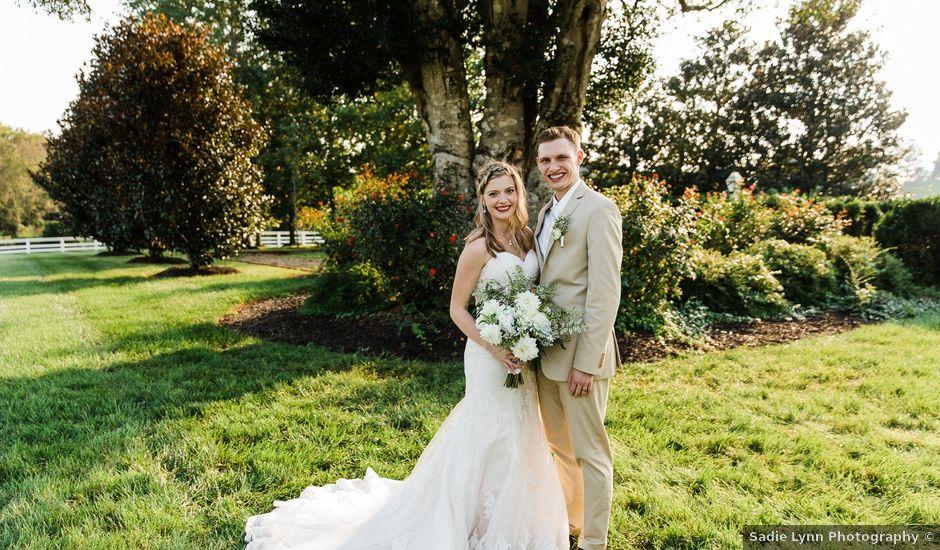Tyler and Hannah's Wedding in Charlottesville, Virginia
