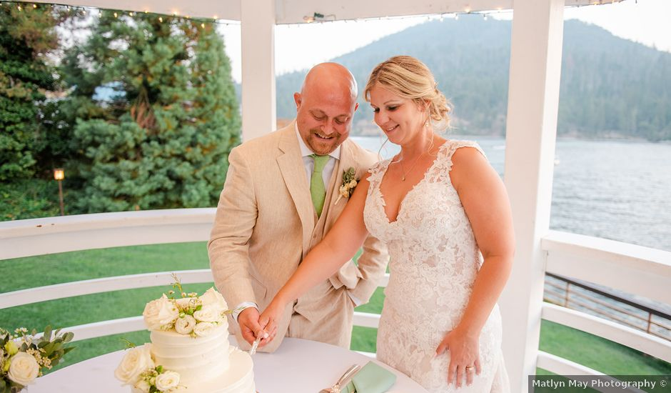 Christopher and Angela's Wedding in Bass Lake, California