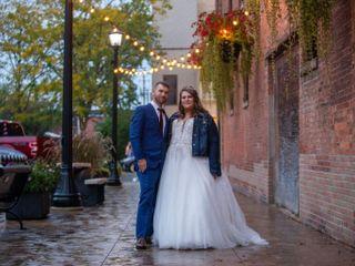 The wedding of Halie and Austin
