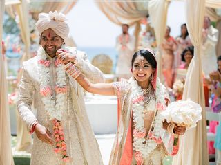 Kiran and Ajay's Wedding in Dana Point, California 11