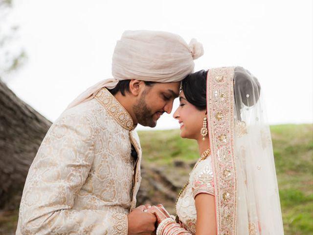The wedding of Ajay and Kiran