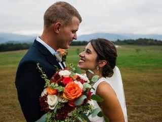 The wedding of Sara and Nick