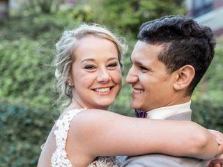 The wedding of Emily and Maysara