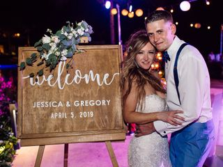The wedding of Jessica and Gregory 1