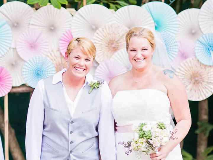 The wedding of Cori and Ashley