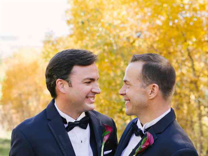 The wedding of Jason and Landon