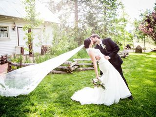 Morgan and Marc's Wedding in Blairsden-Graeagle, California 11