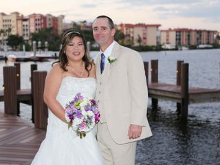 The wedding of Thuy and Jay